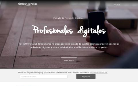 Screenshot of Blog caetrastudios.com - Blog   Caetra Studios - captured July 15, 2018