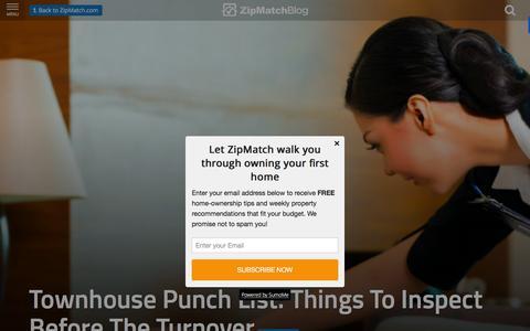 Screenshot of Blog zipmatch.com - ZipMatch Blog: Latest in the Philippine Real Estate Market - captured Dec. 1, 2015