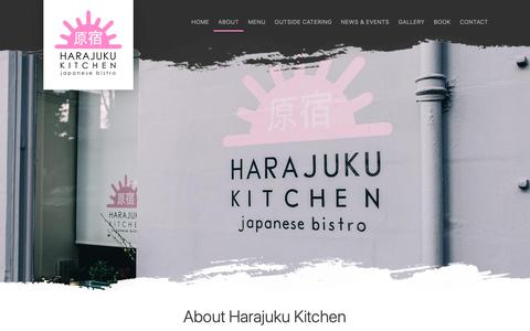 Screenshot of About Page harajukukitchen.co.uk - About Harajuku Kitchen Edinburgh | Authentic Japanese Food - captured Oct. 2, 2018