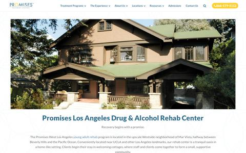 Drug Rehab Los Angeles, CA | Promises Treatment Center