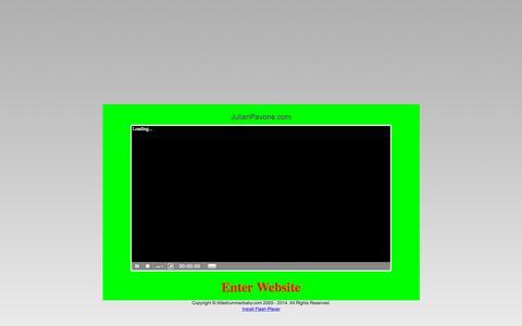 Screenshot of Home Page littledrummerbaby.com - Julian Pavone | Official Website - captured Sept. 29, 2015
