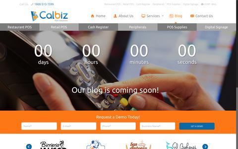 Screenshot of Blog calbizpos.com - Blog - captured Nov. 21, 2017