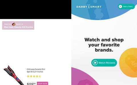 Screenshot of Home Page darbysmart.com captured Aug. 17, 2018