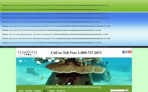 Screenshot of Blog escaribbean.com - Latest News   escaribbean.com - captured Jan. 27, 2016
