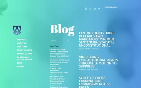 Screenshot of Blog masortilawgroup.com - Masorti Law Group, pc » Blog - captured Oct. 27, 2014