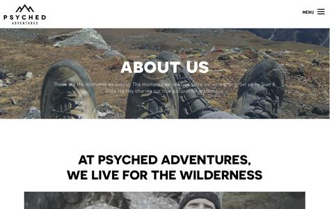 About us — Psyched Adventures