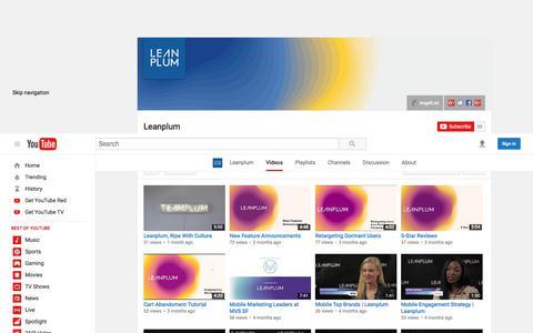 Leanplum  - YouTube