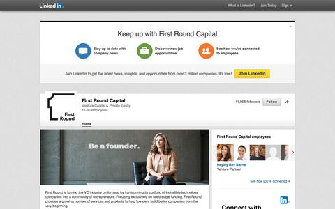 First Round Capital | LinkedIn
