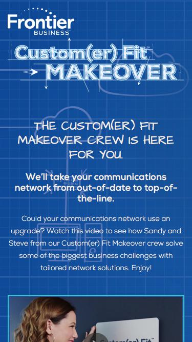 The Custom(er) Fit™ Makeover crew is here for you.