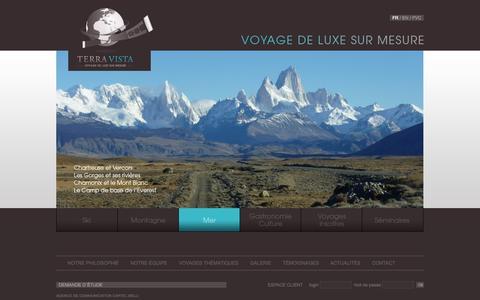 Screenshot of Home Page terra-vista.fr - Terra Vista - captured Sept. 30, 2014
