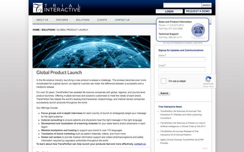 Global Product Launch  | TransPerfect