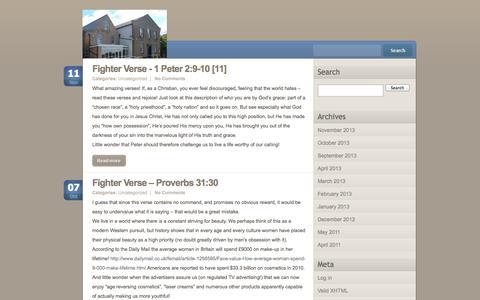 Screenshot of Blog plfc.org.uk - plfc - captured Sept. 30, 2014
