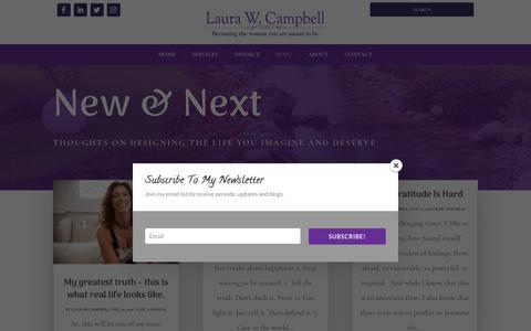 Screenshot of Blog laurawcampbell.com - Blog | Laura W Campbell - captured Nov. 4, 2018