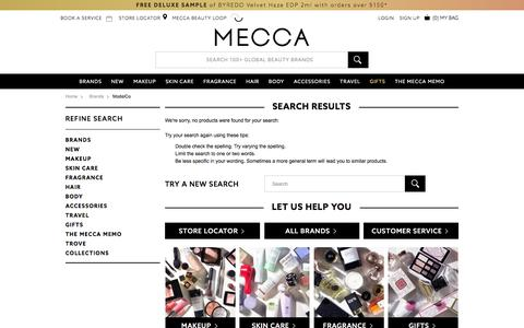Sorry, no products found | MECCA