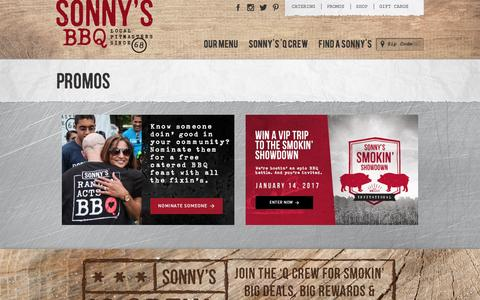 Promotions & Coupons | Sonny's BBQ