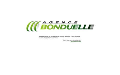 Screenshot of Home Page agence-bonduelle.com - Agence-Bonduelle.com - captured Sept. 30, 2014