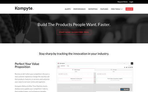 Product Marketing Competitive Intelligence | Kompyte