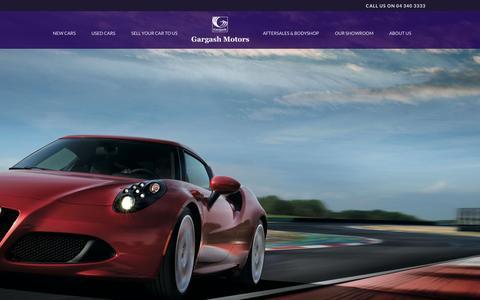 Screenshot of Home Page gargashmotors.com - Gargash   – Gargash Motors Dubai - captured June 18, 2015