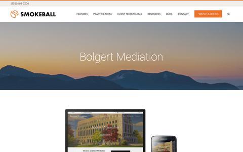 Bolgert Mediation - Smokeball