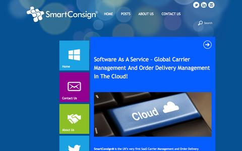 Screenshot of Case Studies Page smartconsign.co.uk - Software as a Service – Global Carrier Management and Order Delivery Management in the Cloud! | SmartConsign - captured Oct. 30, 2014