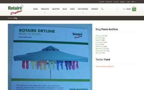 Screenshot of Blog rotaire.com - blog - captured Feb. 15, 2016