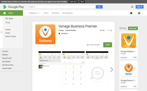 Vonage Business Premier - Android Apps on Google Play