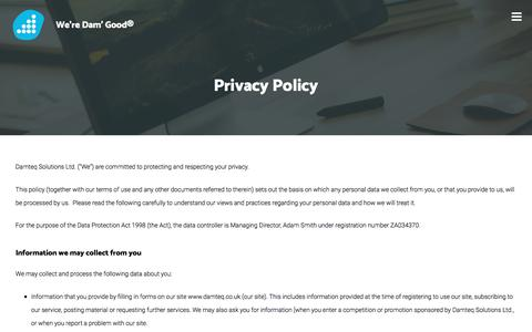 Privacy Policy - Web Design Fareham | SEO Hampshire | Digital Marketing Agency