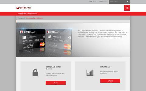 Screenshot of Login Page cimbbank.com.my captured July 5, 2018