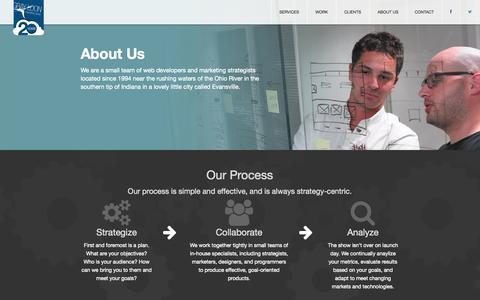 Screenshot of About Page grayloon.com - About Us | Gray Loon Marketing Group, Inc. - captured Oct. 3, 2014