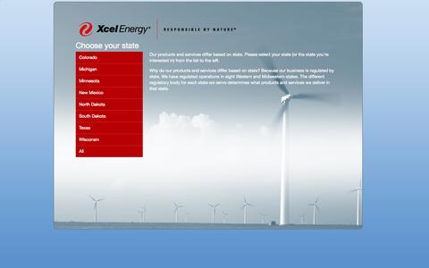 Screenshot of Jobs Page xcelenergy.com - Xcel Energy - Careers - captured Oct. 29, 2014