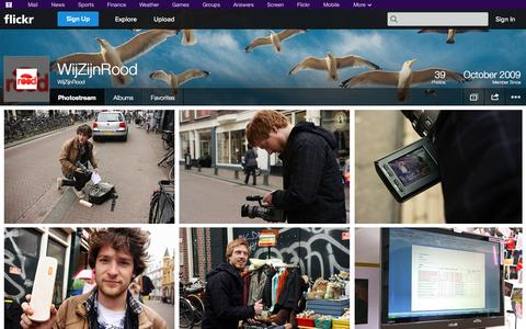 Screenshot of Flickr Page flickr.com - Flickr: WijZijnRood's Photostream - captured Oct. 25, 2014