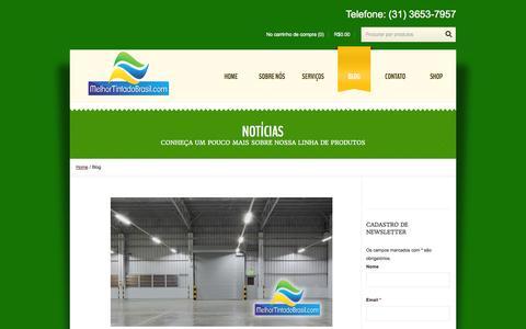Screenshot of Blog melhortintadobrasil.com - Blog - Melhor Tinta do BrasilMelhor Tinta do Brasil - captured Oct. 27, 2014