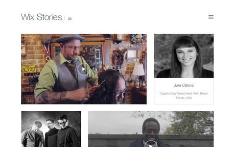 Wix Stories | Testimonials by Wix Users | WIX