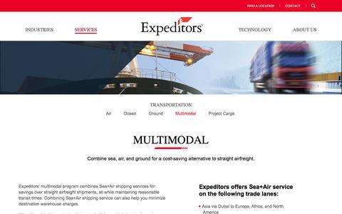 Transportation | Multimodal | Expeditors International of Washington