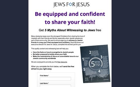 Screenshot of Landing Page jewsforjesus.org - Jews for Jesus - Free Tips for Witnessing to Jews - captured Sept. 19, 2018
