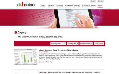 nCino | News