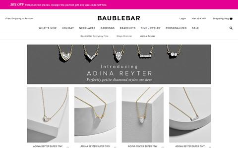 Adina Reyter - Fine Jewelry   BaubleBar