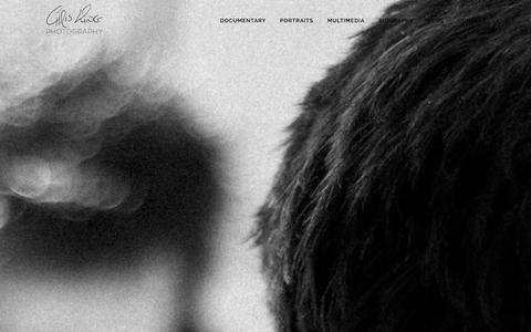 Screenshot of Contact Page chriskingphotography.com - Photographer Chris King for Portraits, Documentary, Multimedia - captured Dec. 27, 2015