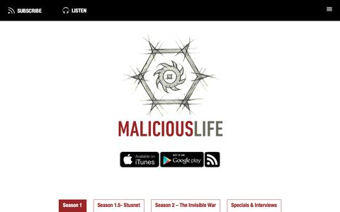 Cybersecurity History Podcast | Malicious Life