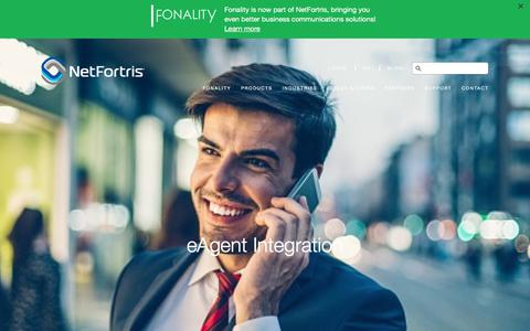 Fonality eAgent Integration for Allstate Agents