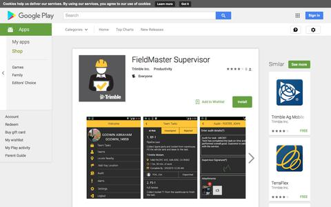 FieldMaster Supervisor - Android Apps on Google Play