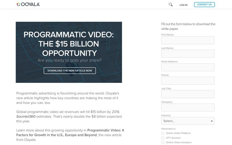 Programmatic Video: 4 Factors for Growth in the U.S., Europe and Beyond