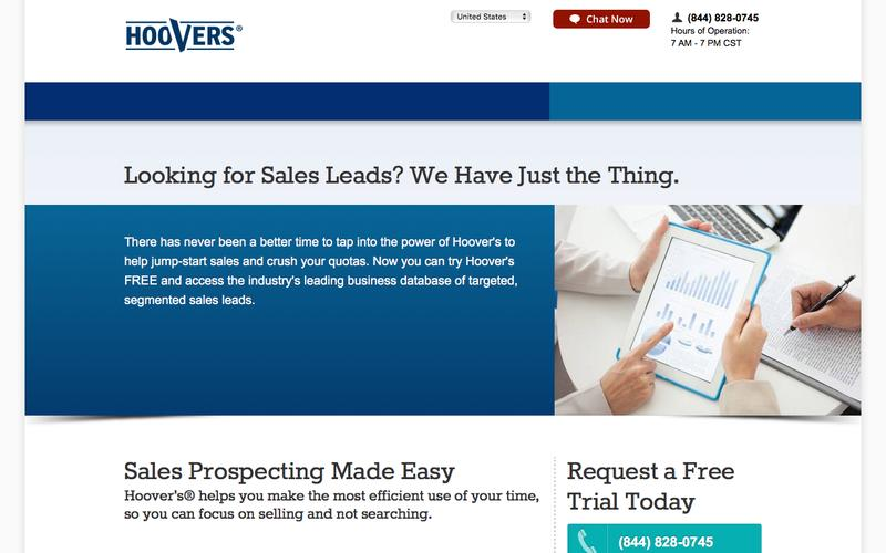 Sales Leads | Company Information | Hoover's.com