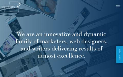 Digital Marketing, Web Design, & Social Media Management   Plastic Surgery Studios