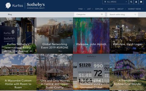 Screenshot of Blog kurfiss.com - Blog - Kurfiss Sotheby's International Realty - captured July 9, 2019