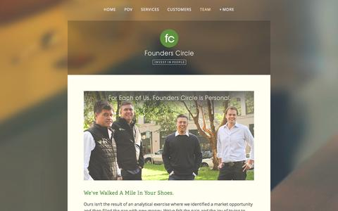 Screenshot of Team Page founderscircle.com - Team — Founders Circle - captured Oct. 29, 2014