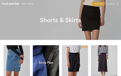Shorts & Skirts | Frank And Oak