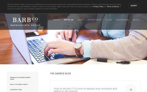 Screenshot of Blog realestatesf.com - Blog | San Francisco Bay Area | Barbagelata Real Estate  Group | BarbCo Group - captured Oct. 5, 2018