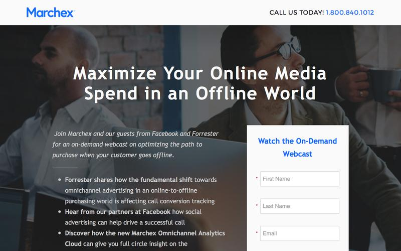 Marchex - Maximize Your Online Media Spend in an Offline World Webcast