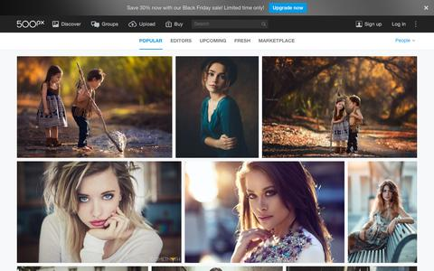 Screenshot of Team Page 500px.com - Most Popular People Photos on 500px Right Now - captured Nov. 24, 2015